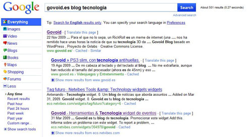 googlegovoid