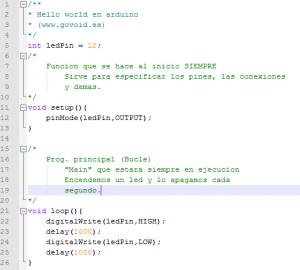 Hello World en Arduino